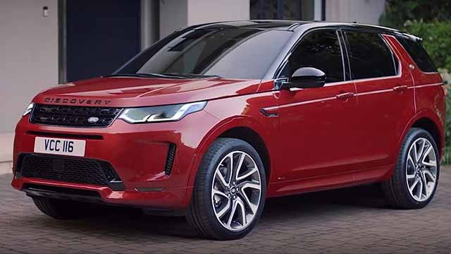 2020 Land Rover Discovery Best luxury Off-road SUV