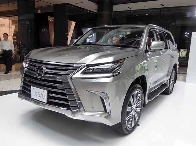 2021 Lexus LX Best luxury Off-road SUV