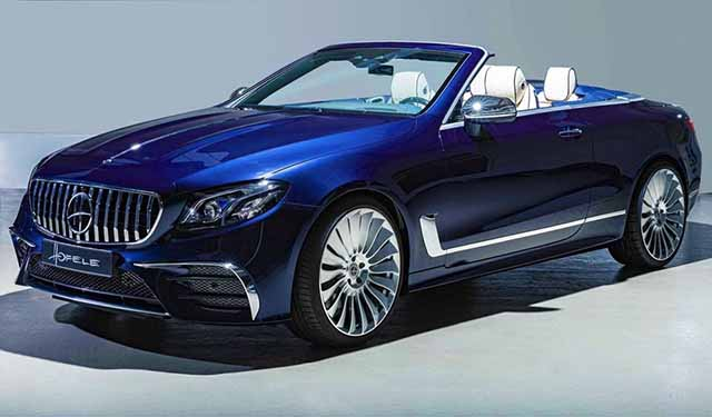 2020 Mercedes-AMG E53 Convertible, A Mercedes Sports Car