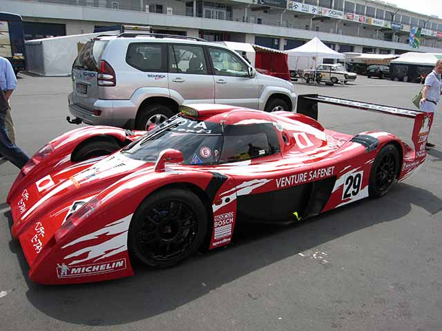Toyota GT-One toyota sports cars